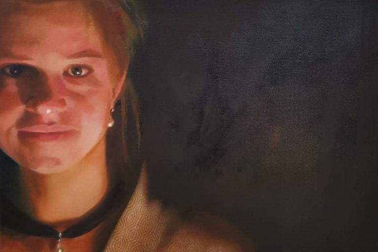 Kostenlose Malvorführung – Porträtmalerei in Mischtechnik – Sa., 12.10.2019