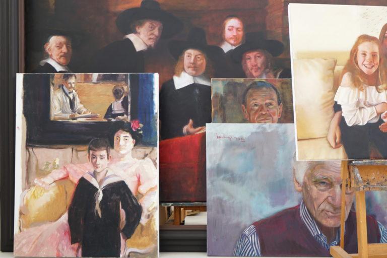 """Onlineausstellung """"portraits"""" von Frank Burkamp – Titelbild"""