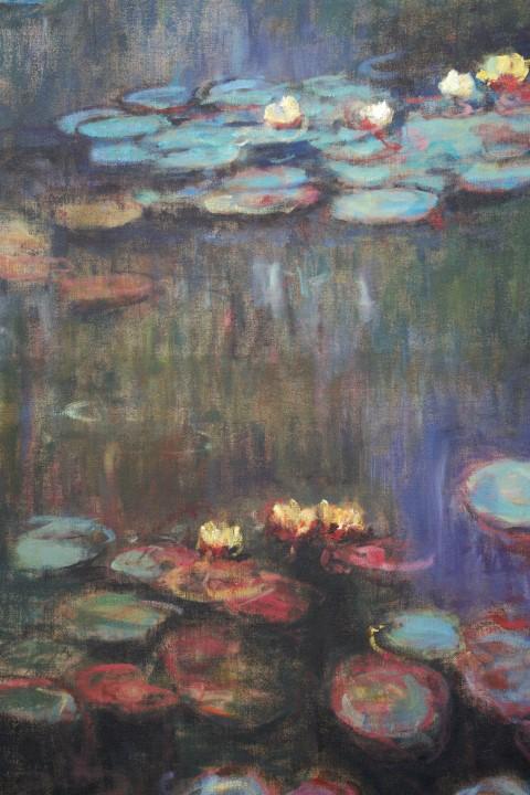 2-Tages-Workshop – Claude Monets Seerosenbilder – geschichtet, in ...