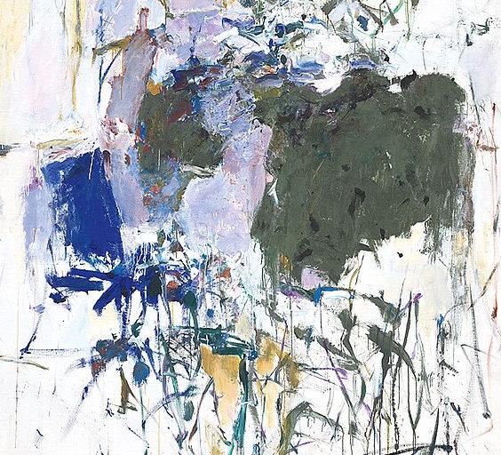2-Tages Workshop – Joan Mitchell, Jackson Pollock, K.O. Götz und Co. – gestische abstrakte Malerei