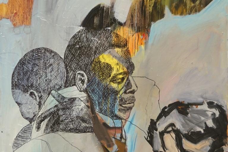 """Online – Einzelausstellung von Jörg Bertrams – """"réfugiés"""" – un hommage à Samuel Gratacap"""