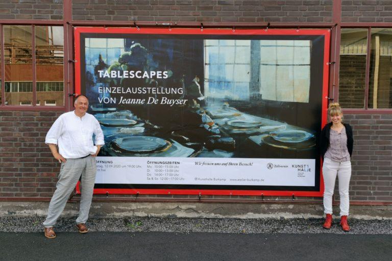 """Vernissage zur Ausstellung """"Tablescapes"""" von Jeanne De Buyser am 12.09.2020 um 19 Uhr"""